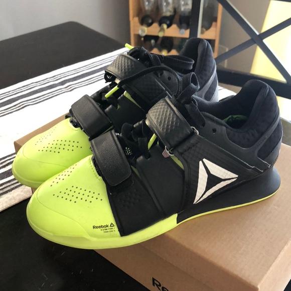 baa50ff198f18c Reebok Legacy Lifter Black + Lime Green. M 5b8d6ff8dcf855c75cb22c69